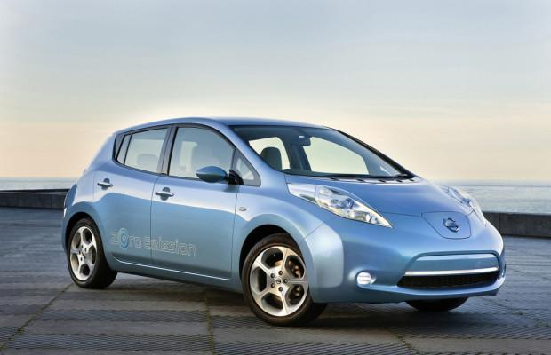 Nissan bietet Probefahrten mit dem Leaf