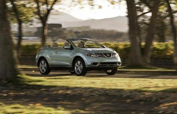 Panorama: Nissan Murano Cabrio - California Dreamin in XXL