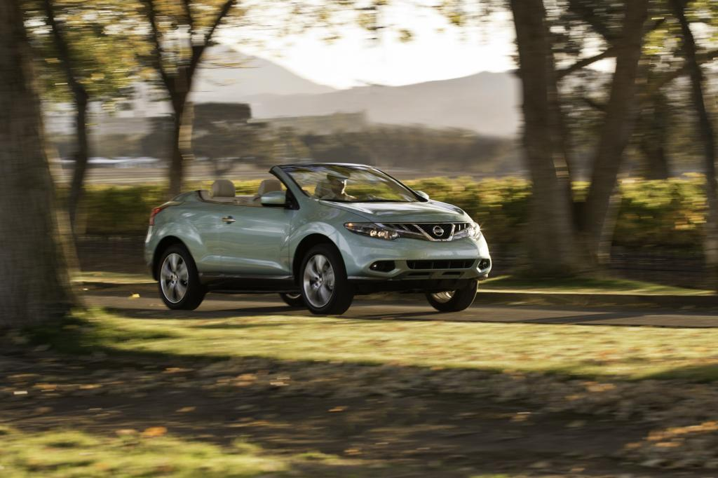 Panorama: Nissan Murano Cabrio - California Dreamin in XXL