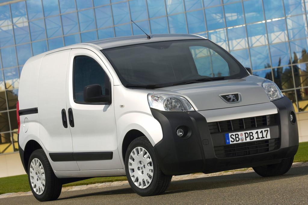Peugeot Bipper mit neuem Motor und neuer Ausstattung