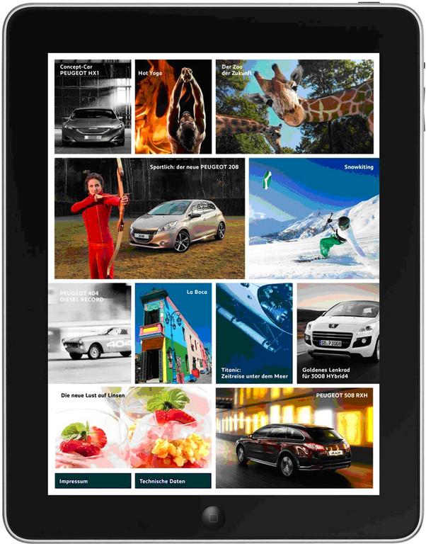 Peugeot-Kundenmagazin als App
