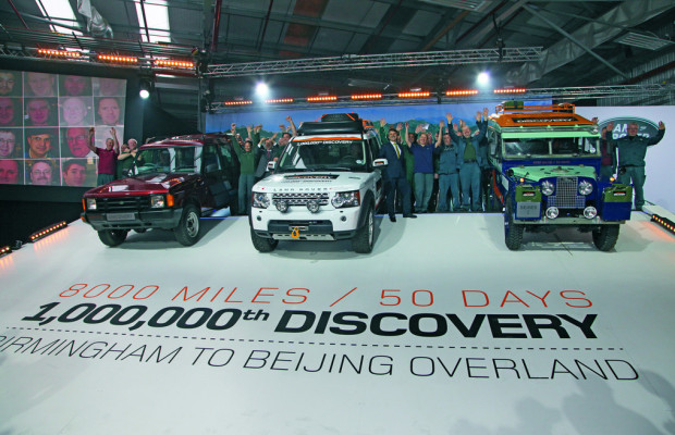 Produktionsjubiläum: Land Rover Discovery ist Millionär