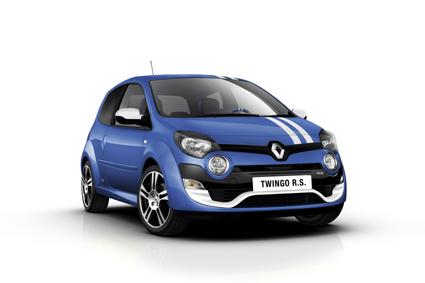 Renault Twingo Gordini R.S. mit neuem Markengesicht