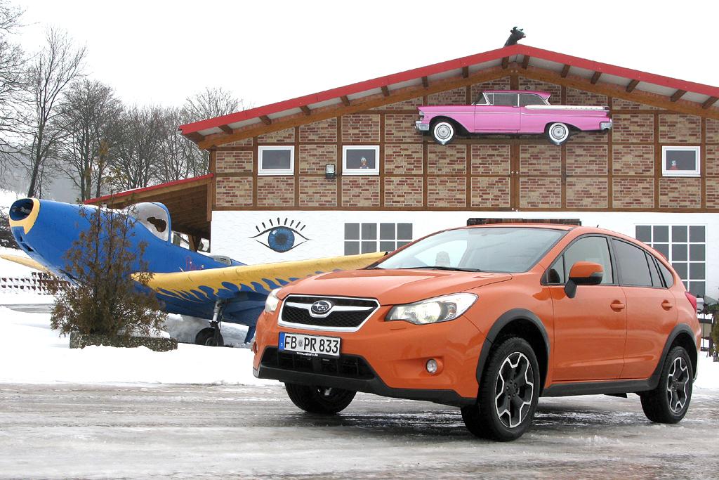 Steht gerade am Start: Subaru Kompakt-SUV XV.