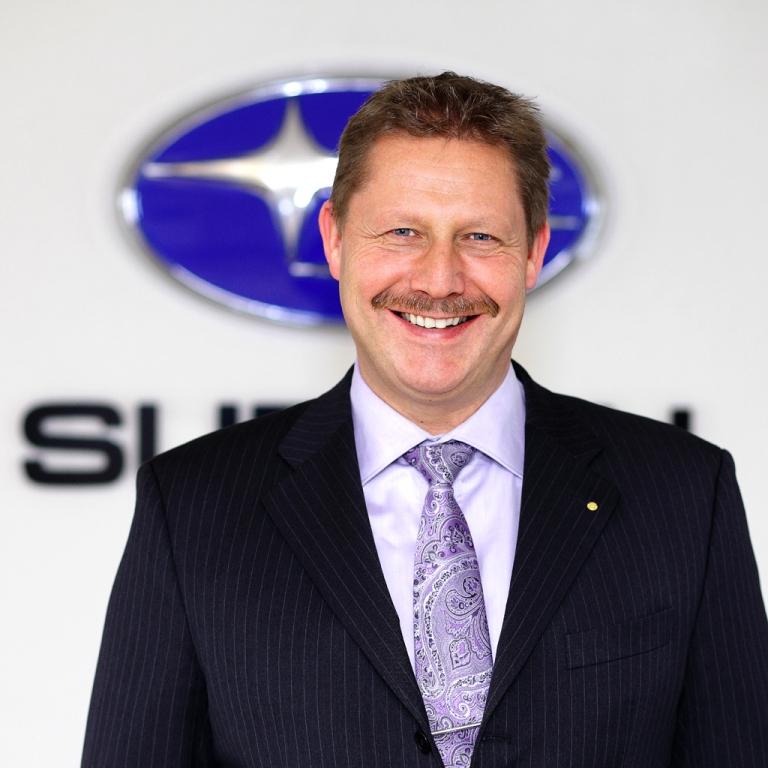 Subaru-Chef in Deutschland: Volker Dannath.