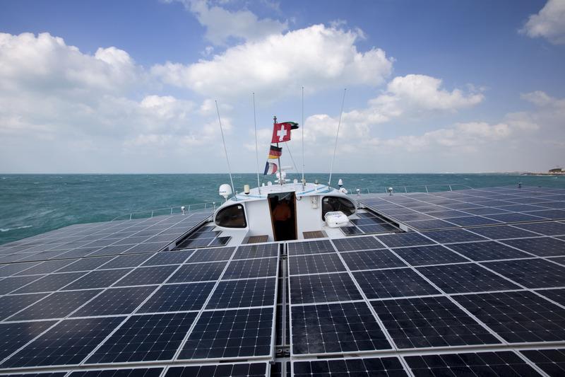 TÛRANOR PlanetSolar: Piratenattacken blieben aus – weiter Richtung Suezkanal