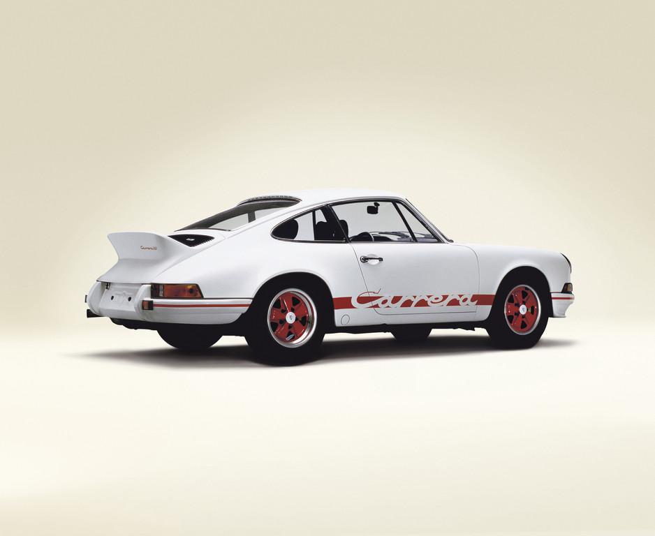 Techno Classica 2012: Porsche 911 Carrera RS 2.7 wird 40 Jahre alt