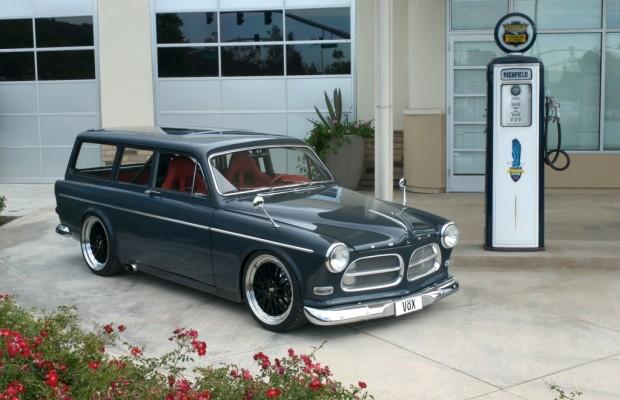 Techno Classica 2012: Volvo Amazon Kombi feiert 50. Geburtstag