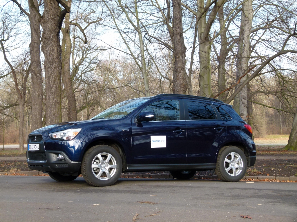 test mitsubishi asx 1.8 did instyle 4wd cleartec: unaufgeregter
