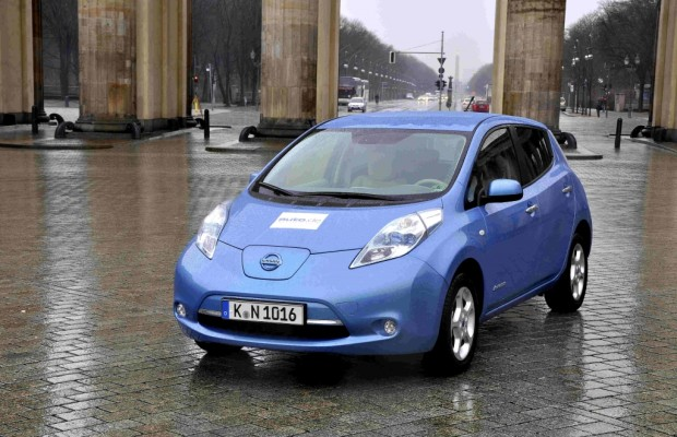 Test Nissan Leaf: Erstes Elektroauto der Kompaktklasse startet im April