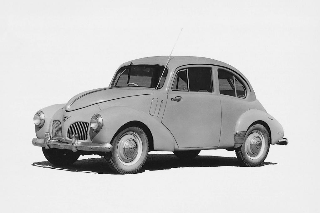 Toyota: Erste Nachkriegslimousine mit Käfer-Genen