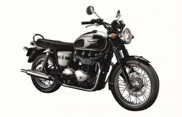 Triumph Bonneville T100 als Jubiläumsmodell