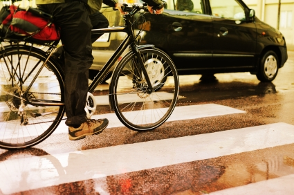 Verkehrschaos durch Streik mit dem Fahrrad umgehen