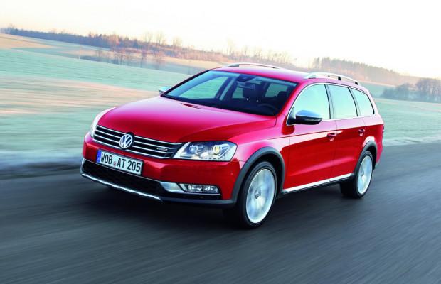 Volkswagen Passat Alltrack steht bei den Händlern
