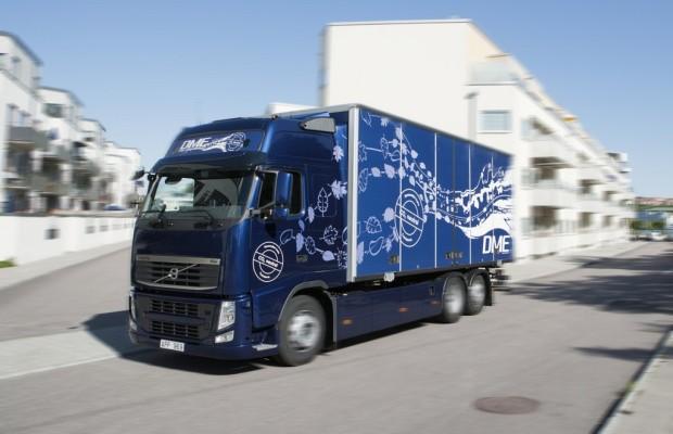 Volvo sieht vielversprechende Zukunft für Bio-DME