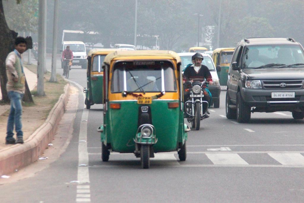 Was dem Italiener die Vespa und dem Holländer das Fahrrad, das ist dem Inder das Tuk-Tuk