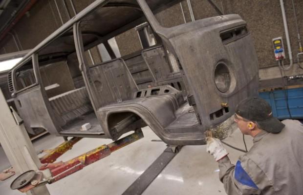 Werksrestaurierung für VW Nutzfahrzeuge