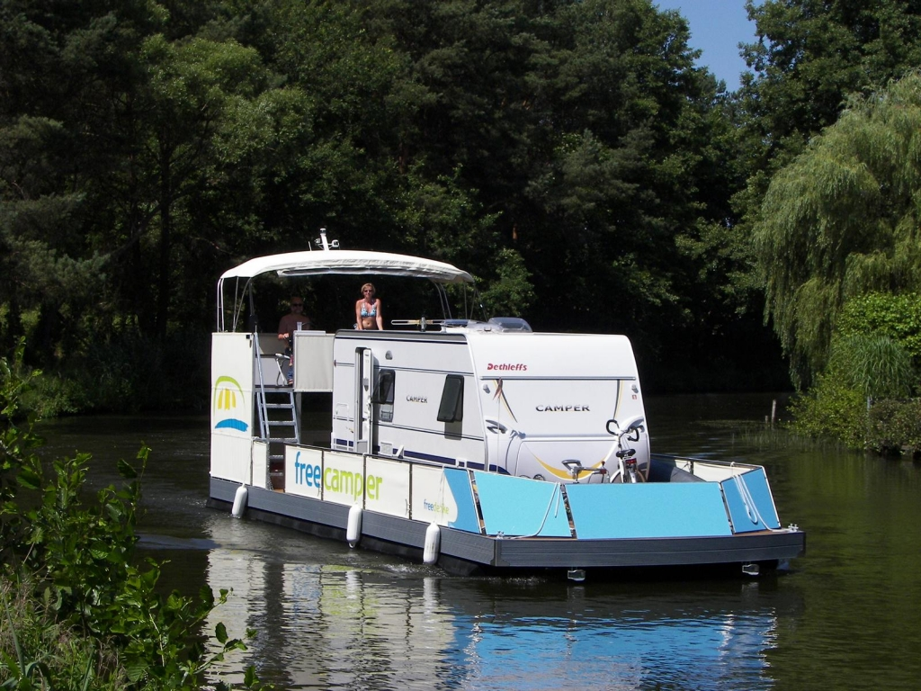 freecamper: Camping auf hoher See