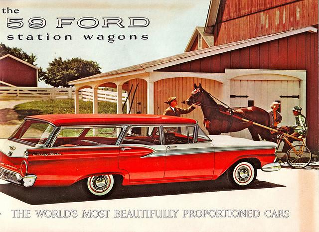 59 Ford Station Wagon