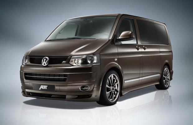 Abt beschleunigt den VW Mulitvan