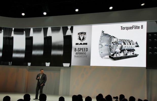 Achtgang-Automatik von ZF senkt Verbrauch des Dodge Ram um ein Fünftel