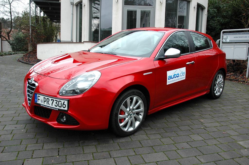 Alfa Romeo Giulietta, hier als Turbobenziner mit 120 PS.