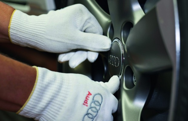 Audi plant Werk in Mexiko