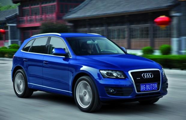 Audi verbucht über 90 000 Auslieferungen in China