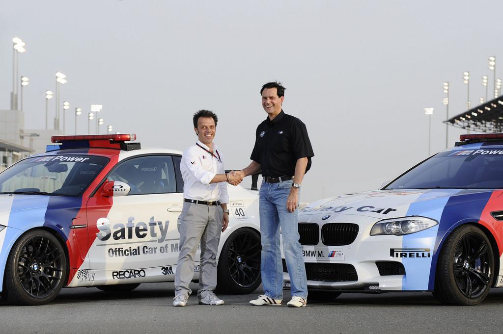 BMW M stellt Safety Car für Moto GP