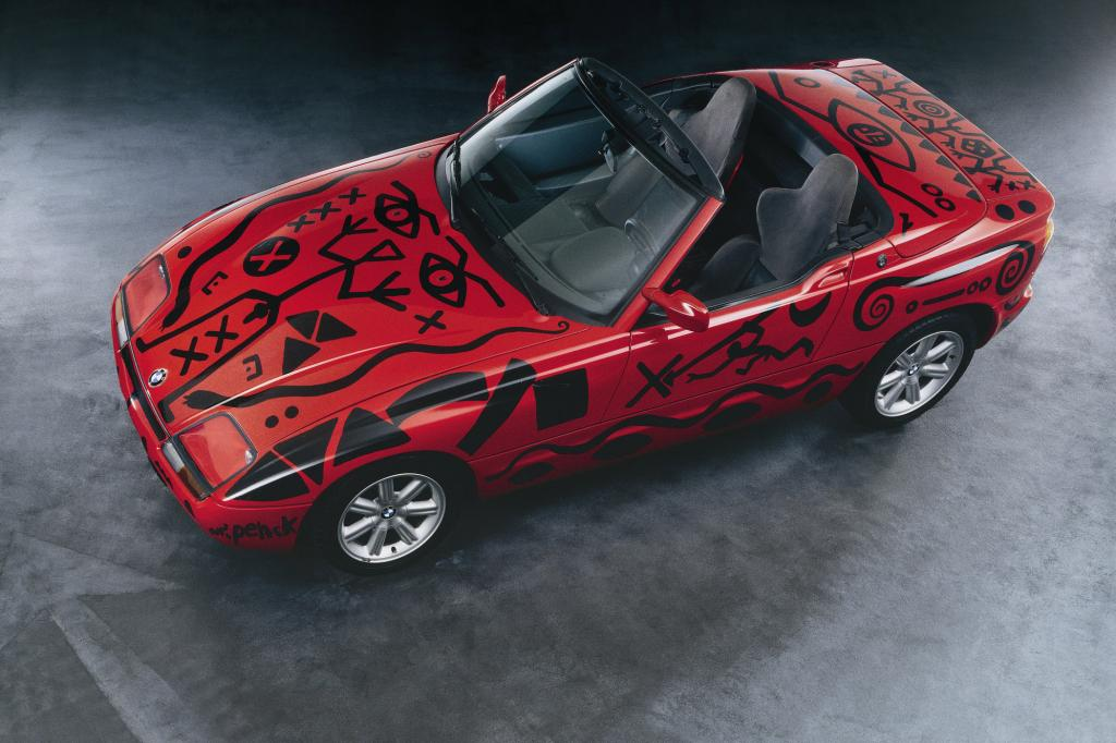 BMW Z1 Art Car von AR Penck 1991