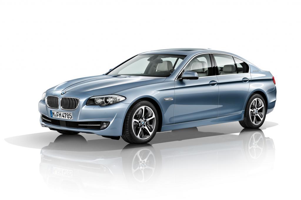 Bei BMW ist der 5er mit Doppelmotor zu haben