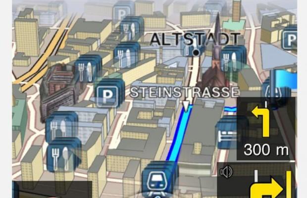 Bosch-Navi App führt Fahrer, Passagier und Ziele zusammen