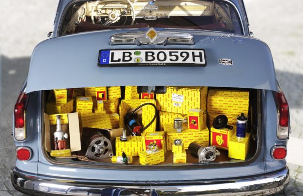 Bosch bietet Ersatzteile für Old- und Youngtimer jetzt online an