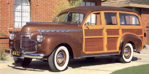 Chevrolet Special Deluxe Station Wagon 1941