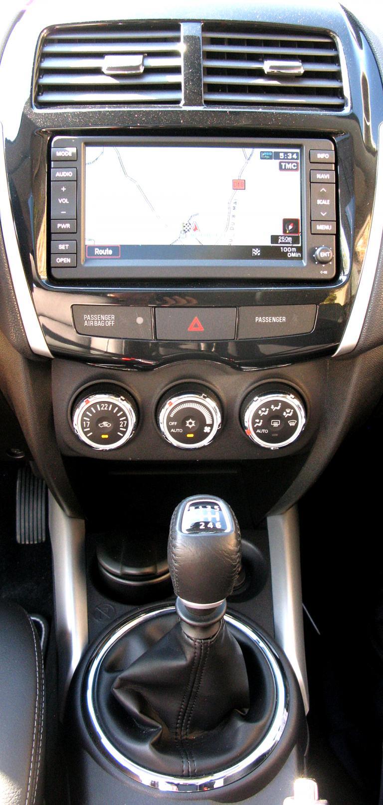 Citroëns C4 Aircross: Blick auf den mittleren Armaturenträger.