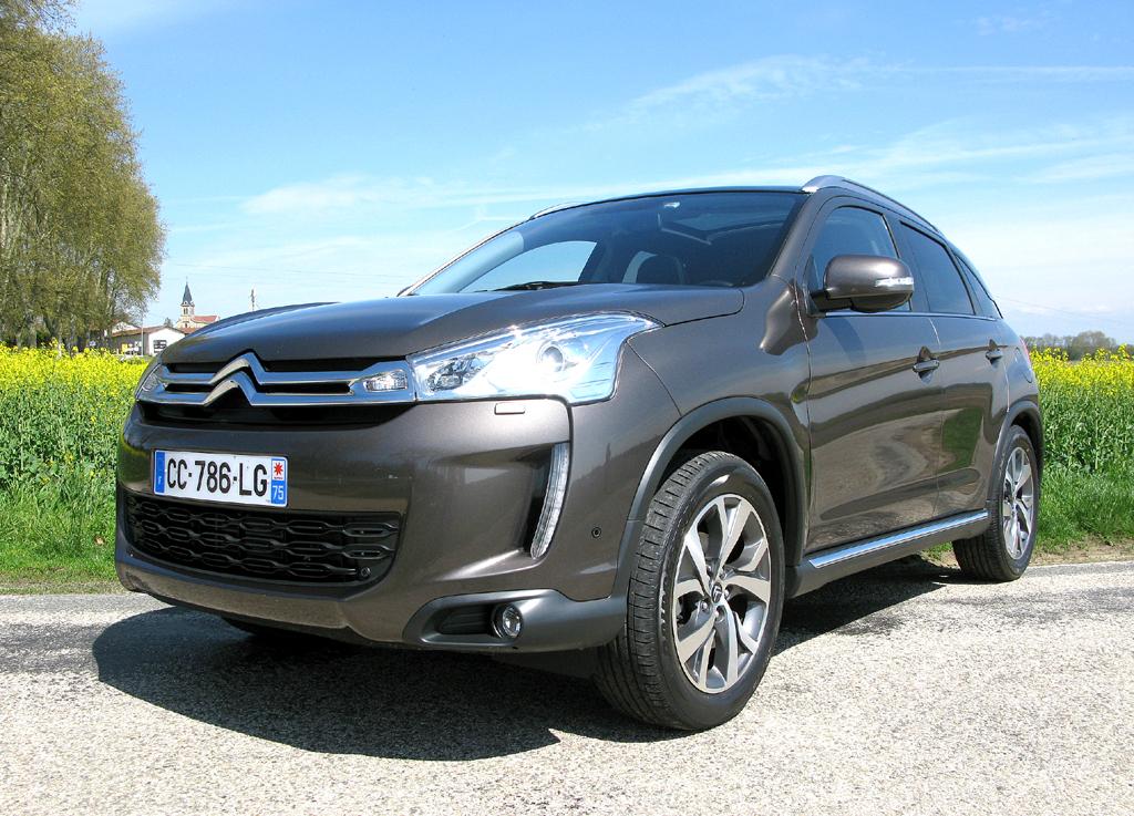Citroëns C4 Aircross baut auf Mitsubishis ASX auf.