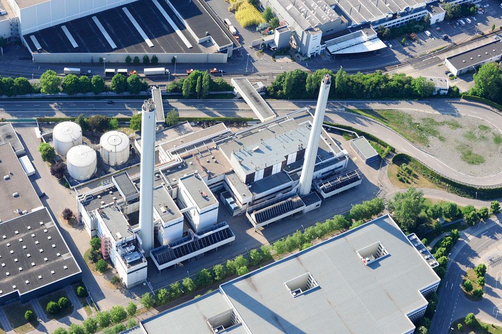 Daimler modernisiert Heizkraftwerk in Sindelfingen