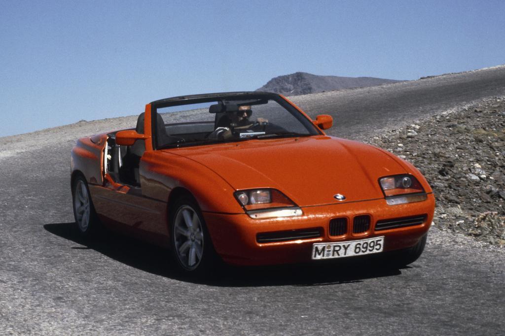 Der BMW Z1 läutete die Renaissance des Roadsters ein