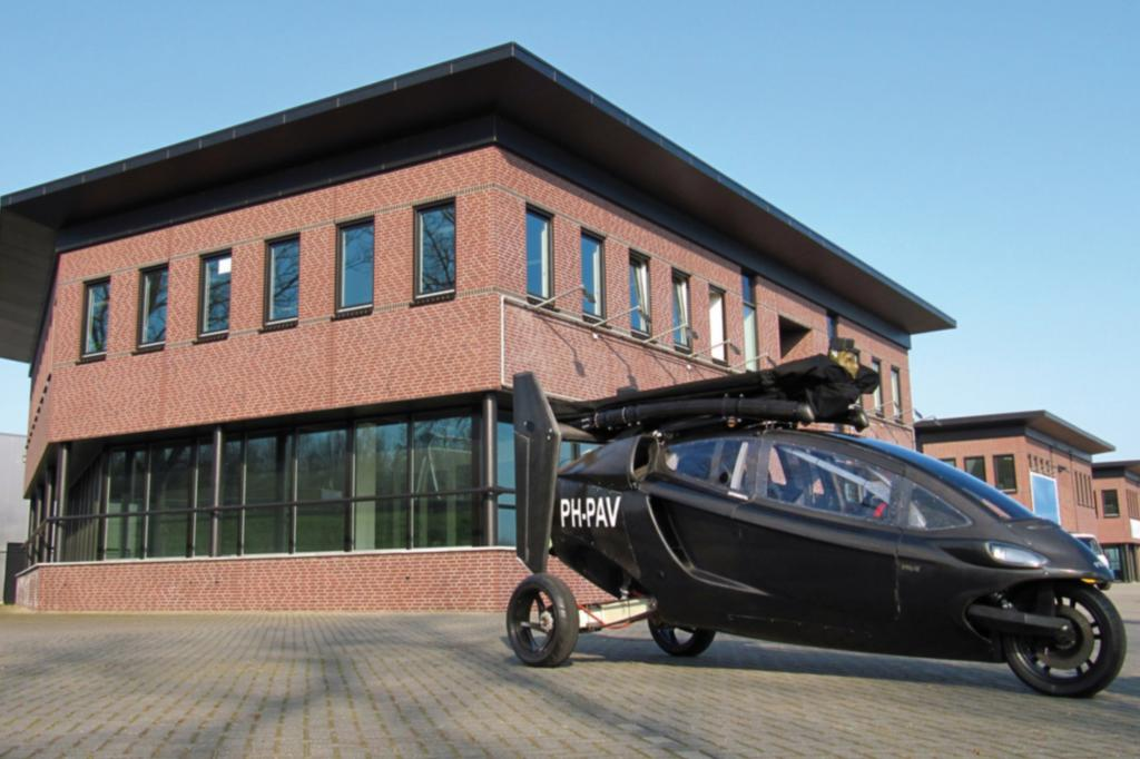 Der PAL-V vereint Eigenschaften von Auto und Hubschrauber