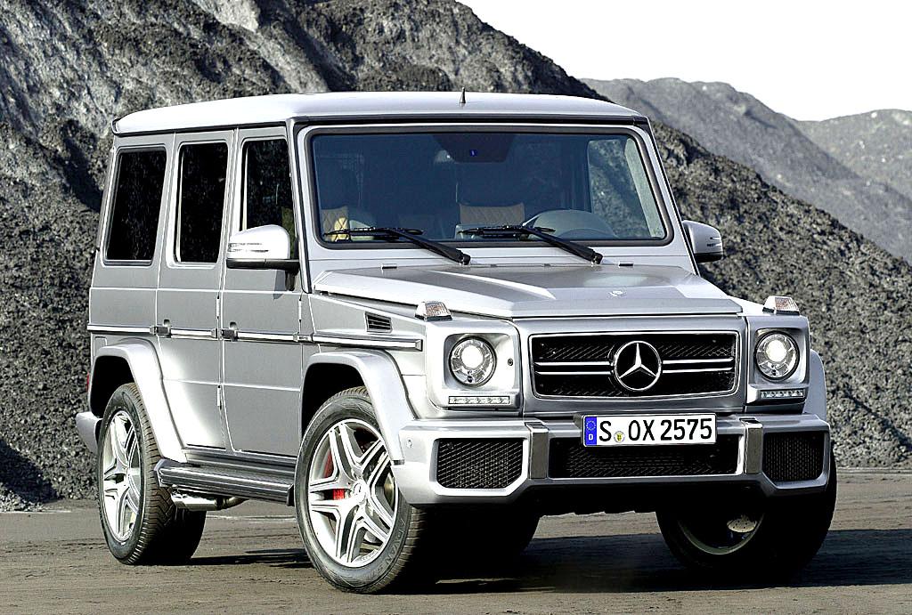 Die G-Klasse, hier der G 63 AMG, ist so etwas eine Art Legende unter den Mercedes-SUV.