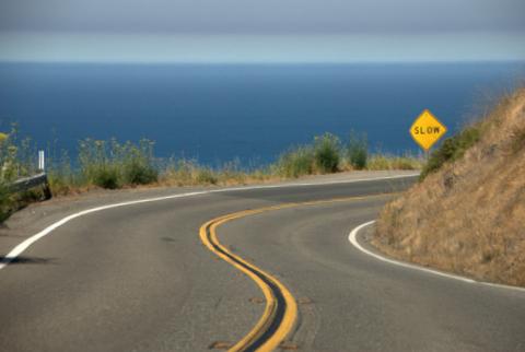 Die beliebtesten Urlaubsstrecken: California State Route 1 - Quelle: Wikipedia