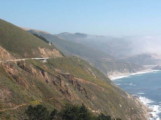 Die schönsten Urlaubsstrecken: California State Route 1 Quelle: Wikipedia
