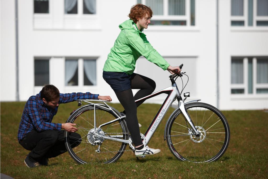 Einstellungssache: Die richtige Fahrrad-Sitzposition