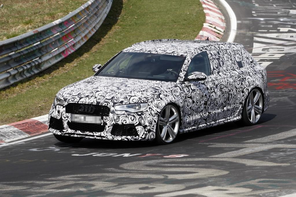 Erwischt: Erlkönig Audi RS6 Avant