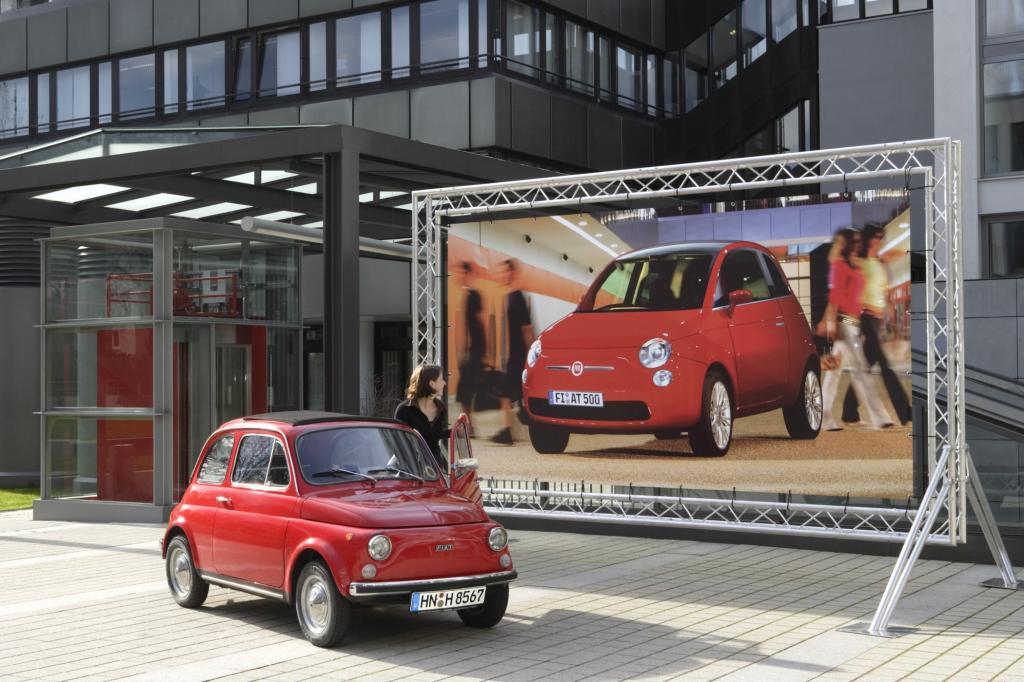Fiat 500 von 1957 und 2007