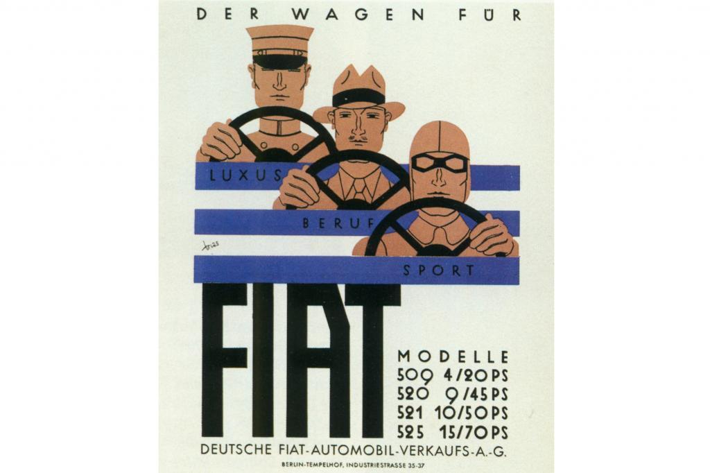 Fiat Deutsche Automobil Verkaufs AG Berlin, 1929