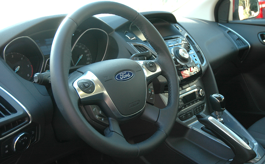 Ford Focus: Blick ins Cockpit.