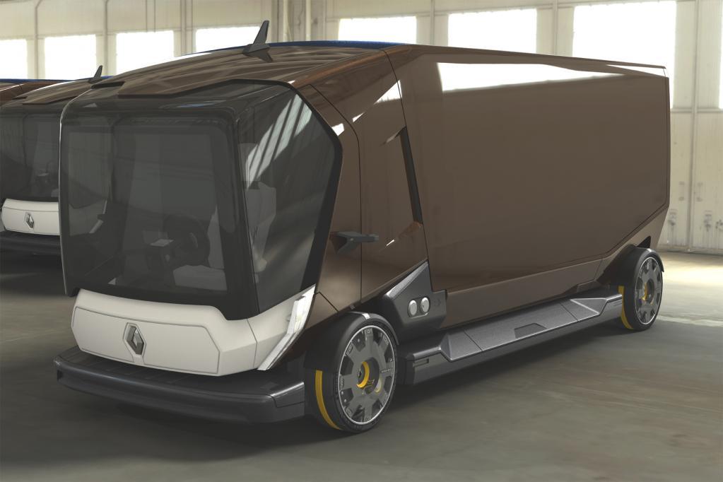 Güterverkehr der Zukunft: das Renault-Lkw-Konzept Connect