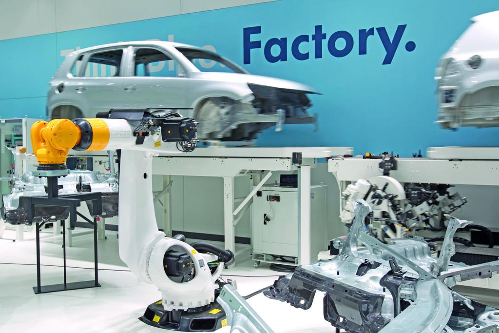 Hannover Messe 2012: Volkswagen präsentiert die Mobilität der Zukunft