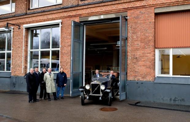 Heute bei Volvo: Dasselbe Auto 85 Jahre später